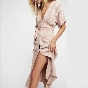 FP Love To Love You Midi Dress in Antique Combo